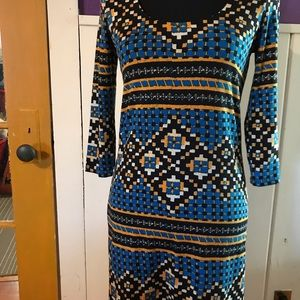 Plenty by Tracy Reese tribal dress size small